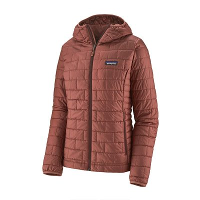 pasiltinta patagonia striuke nano puff hoody women spanish red