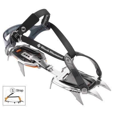 alpinistinės katės black diamond contact strap