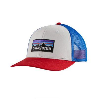 kepure patagonia trucker hat whi