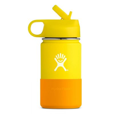gertuve vaikams hydro flask wide mouth kids lemon