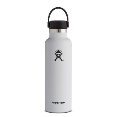gertuve hydro flask standart mouth 24oz white