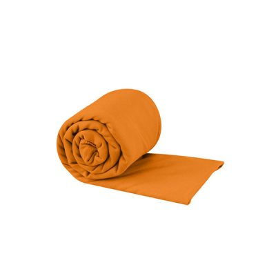 kelioninis ranksluostis sea to summit pocket towel large orange