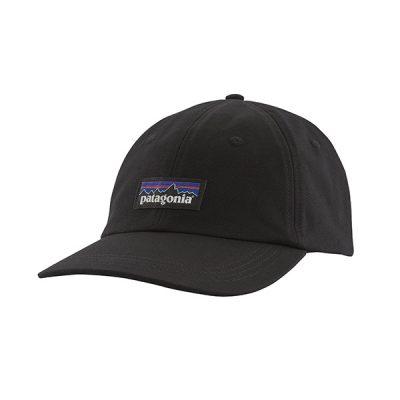 kepure nuo saules patagonia p6 label trad cap blk