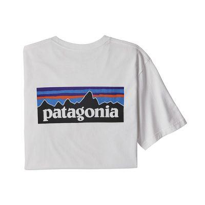 patagonia marskineliai responsabili-tee logo whi