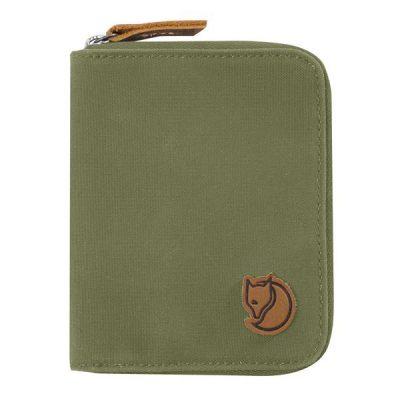 pinigine fjallraven zip wallet green