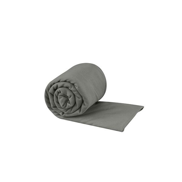 ranksluostis sea to summit pocket towel large grey