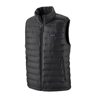 liemene patagonia down sweater vest blk
