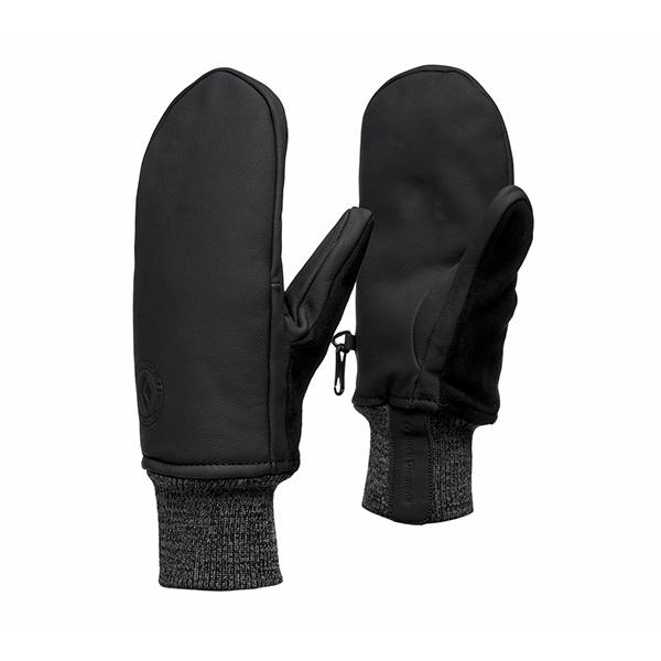 pirstines black diamond dirt bag mitts black