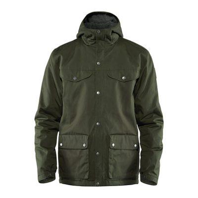 ziemine striuke fjallraven greenland winter jacket m deepforest