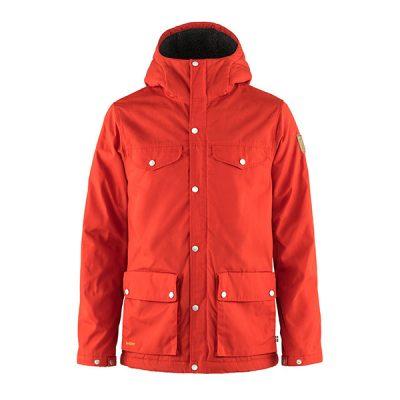ziemine striuke fjallraven greenland winter jacket m truered