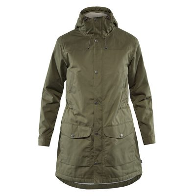ziemine striuke fjallraven greenland winter parka w laurel green