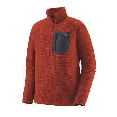 dzemperis patagonia r1 mens air zip neck hte