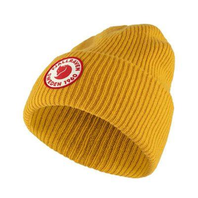 kepurė fjallraven 1960 logo hat mustard yellow