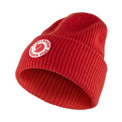 kepurė fjallraven 1960 logo hat true red