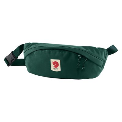 krepsys fjallraven ulvo hip pack medium peacock green