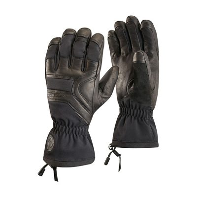 pirstines black diamond patrol gloves black