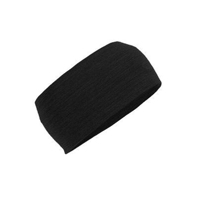 galvos juosta icebreaker cool lite flexi headband black