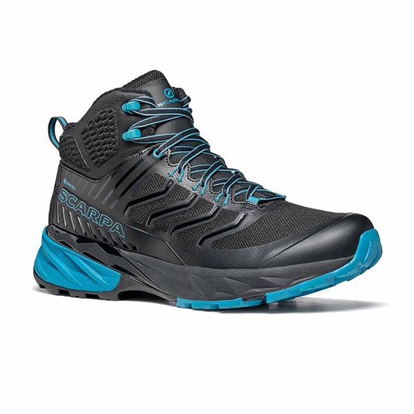 scarpa rush mid gtx batai zygiams black ottanio