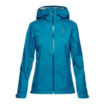 membranine striuke black diamond treeline shell jacket womens azul