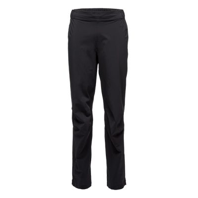 neperšlampamos kelnės black diamond stormline stretch rain pants black