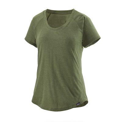 sportiniai moteriški marškinėliai patagonia capilene cool trail shirt cmpg