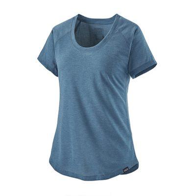 sportiniai moteriški marškinėliai patagonia capilene cool trail shirt stbl