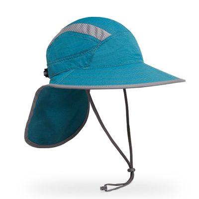 kepurė nuo saulės žygiams sunday afternoons adventure ultra hat mountain blue