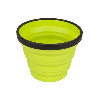 puodelis sea to summit x-mug lime