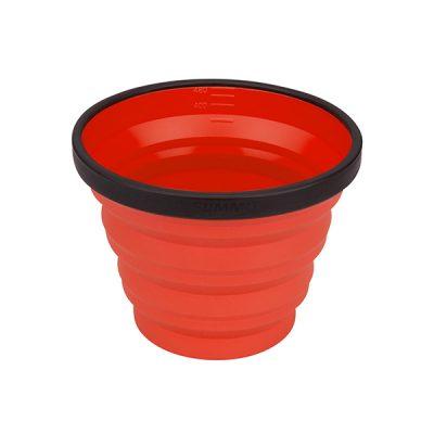 puodelis sea to summit x-mug red