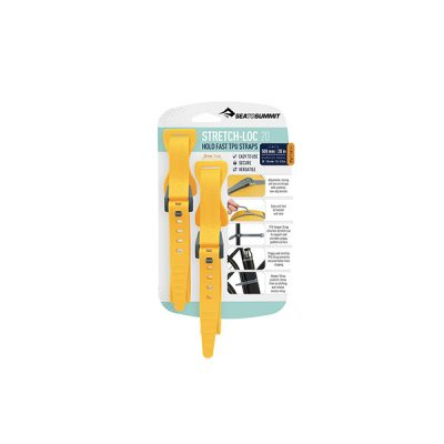 tvirtinimo dirzeliai sea to summit stretch loc tpu straps 500mm yellow