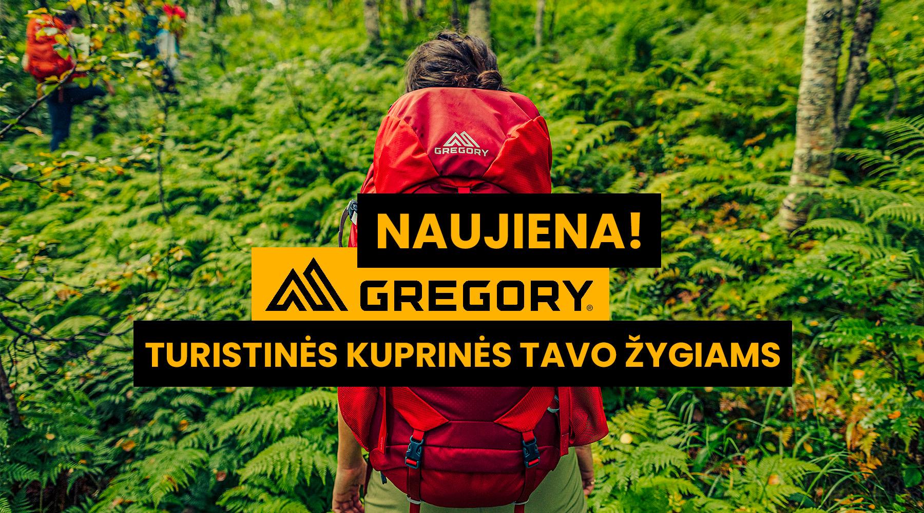 zygiams kuprines kokybiskos gregory hiking treking